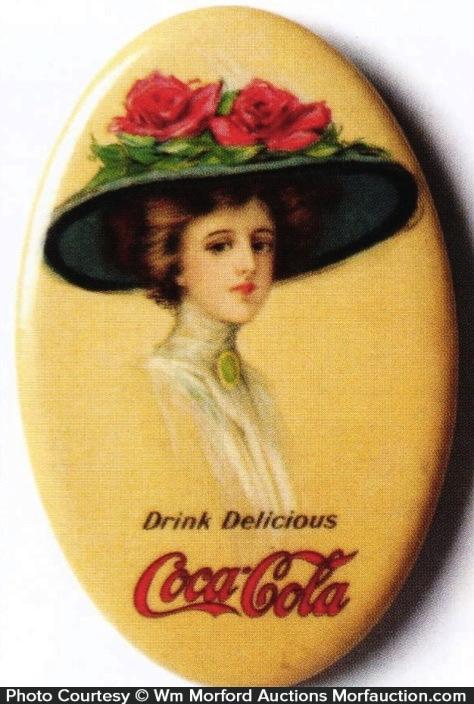 Coke Pocket Mirror