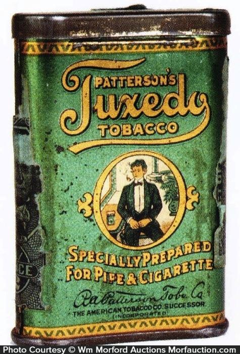 Tuxedo Sample Tobacco Tin