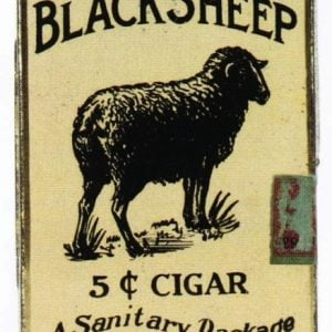 Black Sheep Cigar Tin