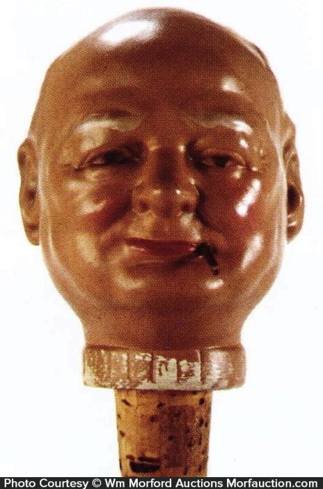 Winston Churchill Bottle Topper