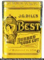J.G. Dill's Best Tobacco Tin