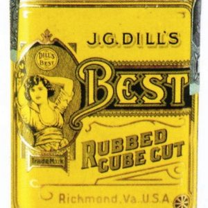 J.G. Dill's Best Tobacco Tin