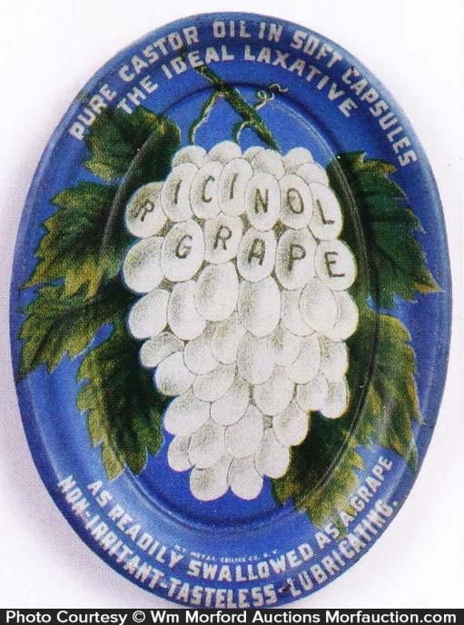 Ricinol Grape Tip Tray