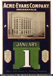 Ace-Evans Flour Calendar
