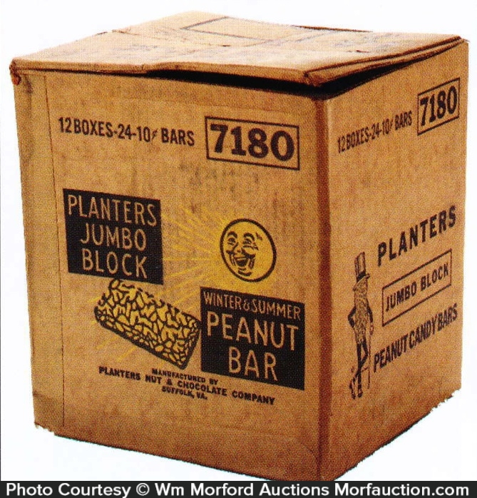 Planters Jumbo Block Shipping Box