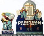 Perryman Radio Tubes Display