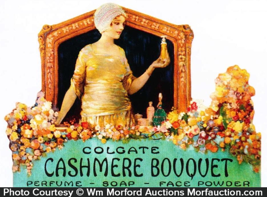 Colgate Cashmere Bouquet Sign