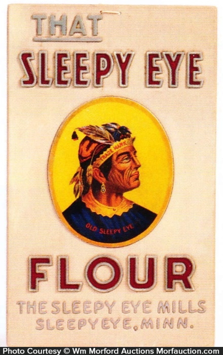 Sleepy Eye Flour Sign