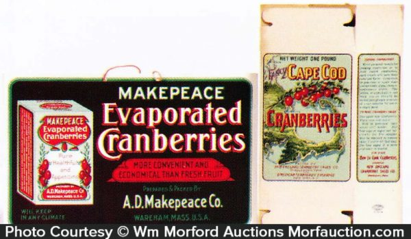 Cranberry Advertising Items
