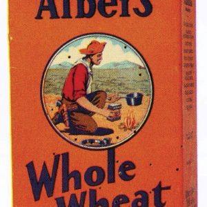 Albers Whole Wheat Flour Box