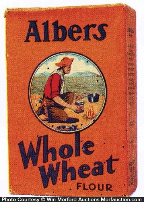 Albers Whole Wheat Flour Box