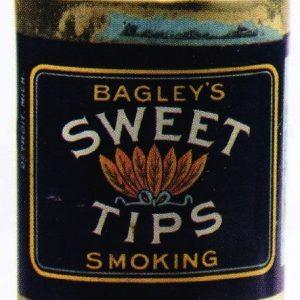 Sweet Tips Smoking Tobacco Tin