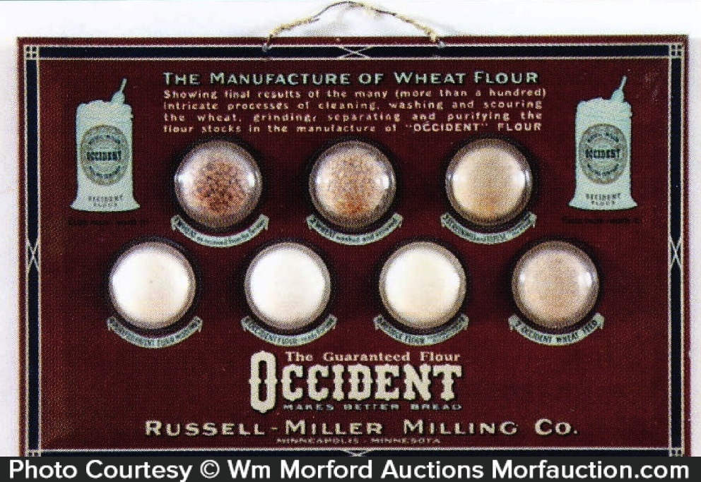 Occident Flour Sample Sign