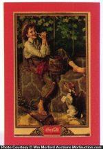 Coca-Cola Tom Sawyer Calendar Top