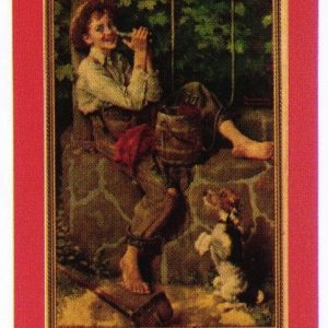 Coca-Cola Tom Sawyer Calendar Top