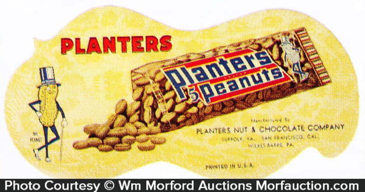 Planters Peanut Blotter