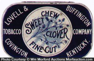 Sweet Clover Tobacco Tin