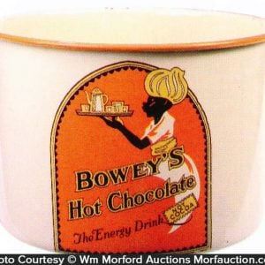 Bowey's Hot Chocolate Container