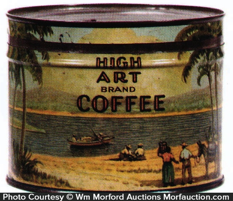 High Art Coffee Can