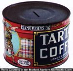 Tartan Coffee Can Bank