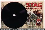 Stag Tobacco Record Post Card