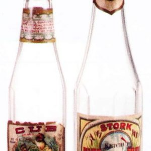 Vintage Catsup Bottles