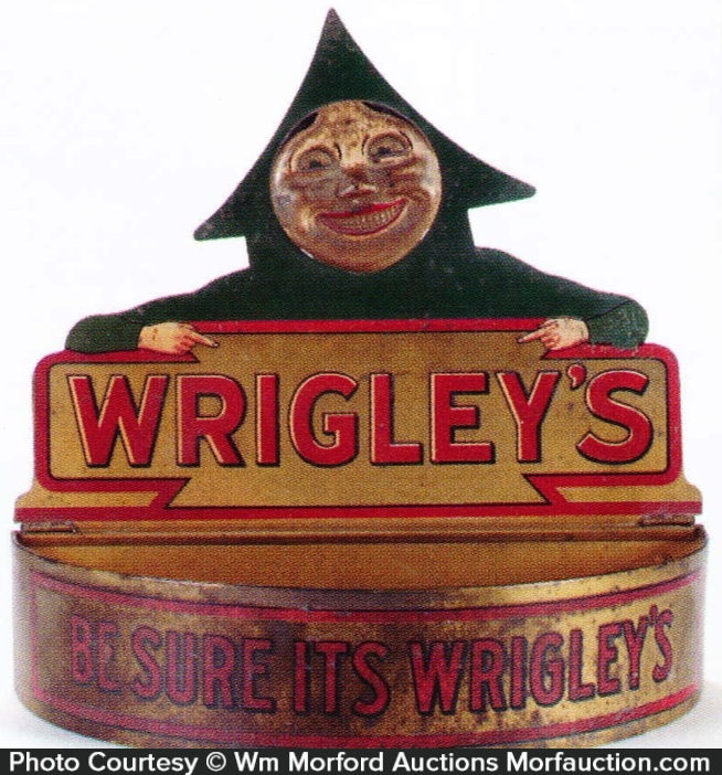 Wrigley's Counter Display