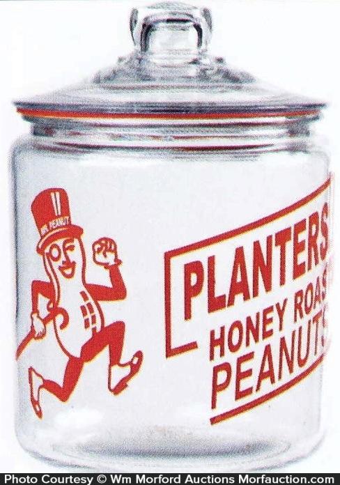Planters Honey Roasted Peanuts Jar