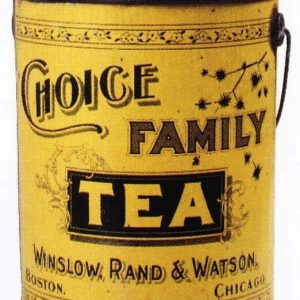 Choice Family Tea Tin