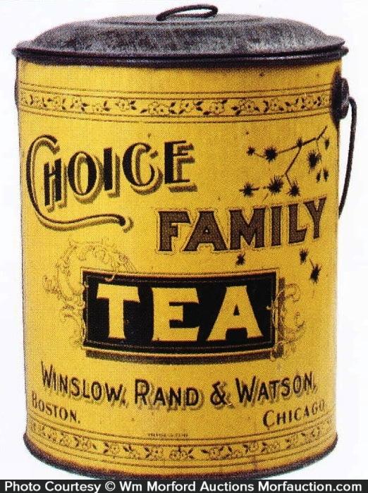 Choice Family Tea Tin