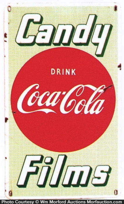 Coca-Cola Candy Films Sign