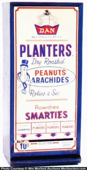 Antique Advertising Planters Vending Machine  E2 80 A2 Antique