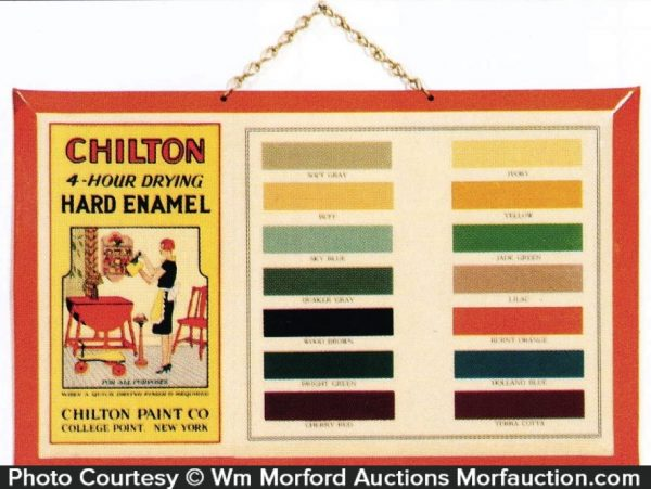 Chilton Paint Sign