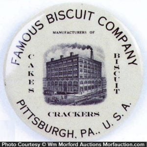 Famous Biscuit Paperweight Mirror