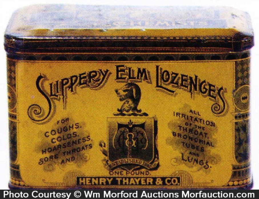 Slippery Elm Lozenges Tin