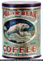 Polar Bear Coffee Can
