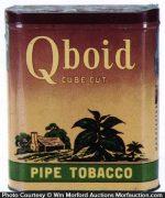 Qboid Pipe Tobacco Tin