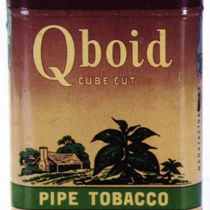 Qboid Pipe Tobacco Tin