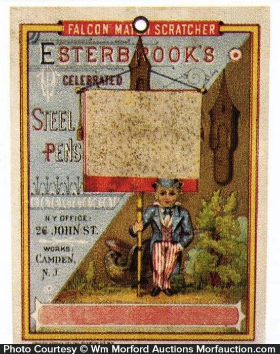 Esterbrook Pens Match Scratcher