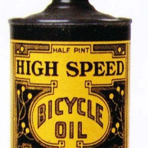High Speed Bicycle Oil Tin