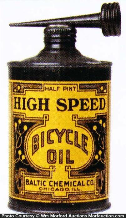 High Speed Bicycle Oil Tin