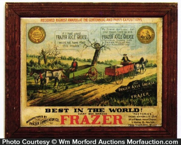 Frazer Axle Grease Sign