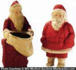 Papier-Mache Santa's