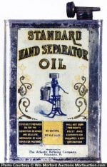 Standard Hand Separator Oil Can