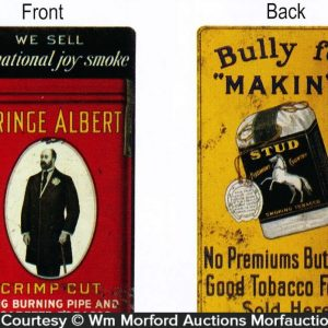 Prince Albert Tobacco Sign