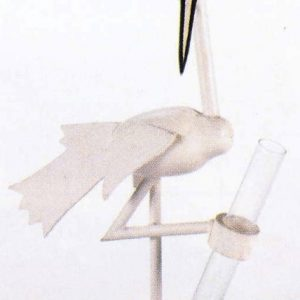 Stork Club Bud Vase