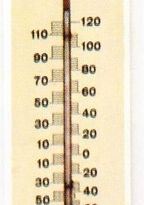 Old Dutch Beer Thermometer