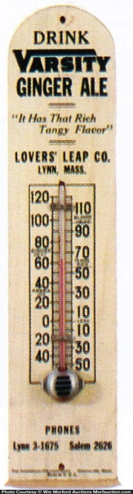 Varsity Ginger Ale Thermometer