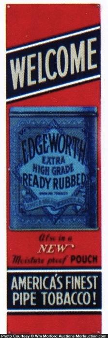 Edgeworth Tobacco Door Push