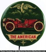 The American Car Pinback